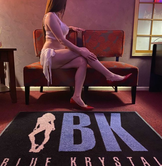 One of our real ladies | Meet them today at Blue Krystal