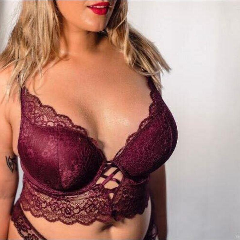 sex worker wearing lingerie